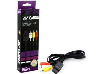 Gamecube AV Cable Compatible with N64 and SNES KMD