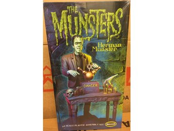 THE MUNSTERS  HERMAN MUNSTER   1/9 Moebius Byggsats