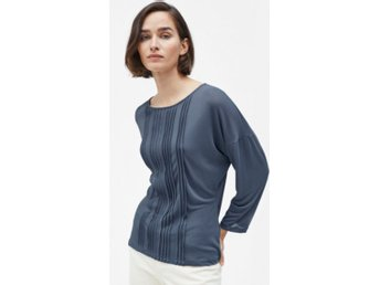 Pin tuck Jersey Blouse Filippa K
