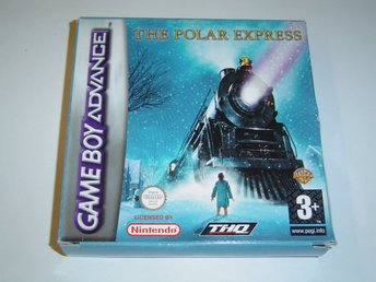 The Polar Express Nintendo Gameboy Advance GBA *NYTT*