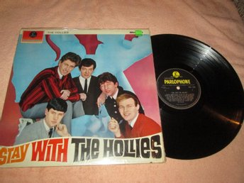 HOLLIES STAY WITH THE HOLLIES  UK  SNYGGT EX