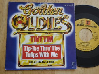 TINY TIM - Tip toe thru the tulips with me  me Reprise Tyskland -80  singel
