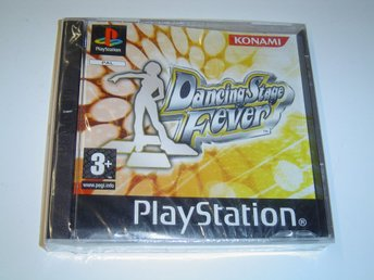 DANCING STAGE FEVER SONY  PLAYSTATION PSX PSONE *NYTT*
