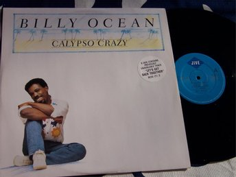 "BILLY OCEAN - CALYPSO CRAZY 12"" 1988 UK"