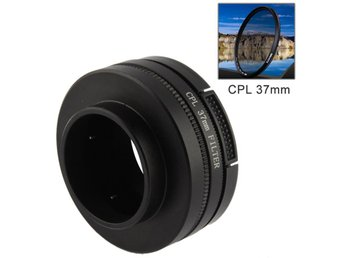 37mm CPL-filter & adapter till GoPro (37mm)