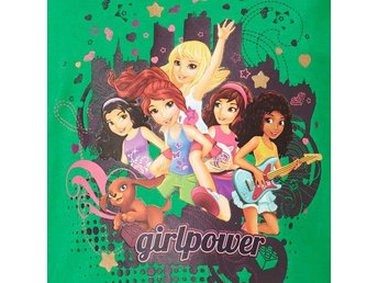LEGO FRIENDS T-SHIRT L/S GRÄSGRÖN 804862-128