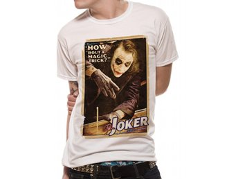 T-Shirt BATMAN THE DARK KNIGHT - MAGIC TRICK (UNISEX) - X