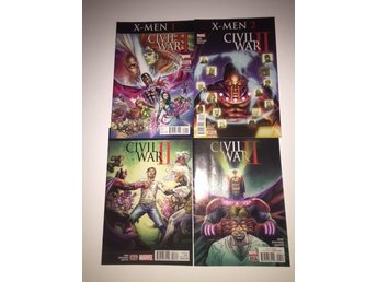 Civil War II X-men 1-4 Complete (2016) 99sek!!!