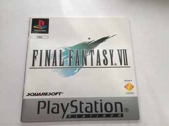Final Fantasy VII ( 7 ) , PAL