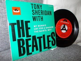 EP  The Beatles with Tony Sheridan (Topp-skick)