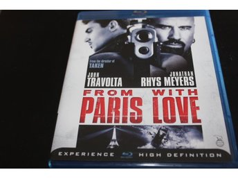 Bluray: From Paris with love (John Travolta)
