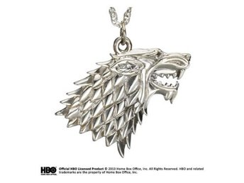 Game of Thrones Hängsmycke Stark Silver
