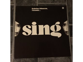 "SABRINA JOHNSTEN - I WANNA SING. (NEAR MINT 12"")"
