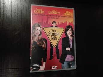 You Stupid Man (2002) Ny DVD Reg.2, komedi, Milla Jovovich, David Krumholtz