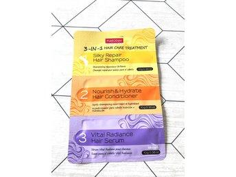 Javascript är inaktiverat. - Grängesberg - En hår behandling som innehåller 3 steg som ska ge håret återfuktning. - Grängesberg