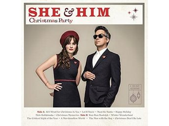 She & Him: Christmas party 2016 (CD)