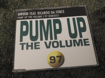 Greed - Pump up the volume CD Singel 1997