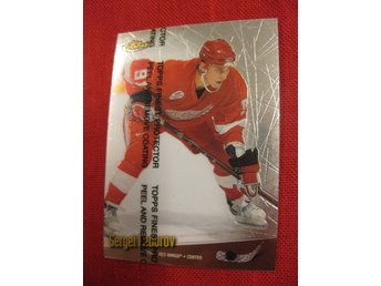SERGEI FEDOROV DETROIT RED WINGS - TOPPS FINEST 1998-1999 - 98-99