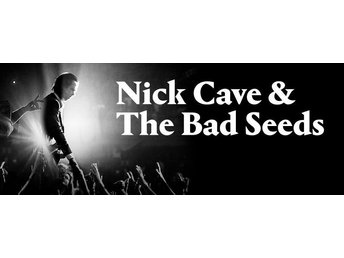 Nick Cave & The Bad Seeds Dalhalla 2 st STÅPLATS LÄNGST FRAM