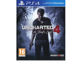 "PS4-spel ""Uncharted 4: A Thief's End"""