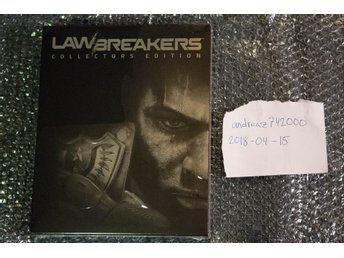 Limited Run Games LawBreakers Collector's Edition (PS4) lågt nummer 0172/2500