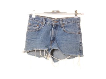 Levi Strauss & Co, Shorts, Strl: 34/36, Relaxed Fit, Ljusblå