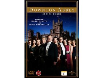 Downton Abbey / Säsong 3 (3 DVD)