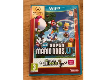 New Super Mario Bros U + New Super Luigi U Wii U  -- Fri Frakt! --
