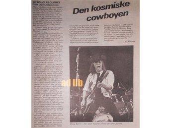 SIR DOUGLAS QUINTET - GÖTA LEJON Konsertrecension TIDNINGSARTIKEL 1981 - öckerö - SIR DOUGLAS QUINTET - GÖTA LEJON Konsertrecension TIDNINGSARTIKEL 1981 - öckerö