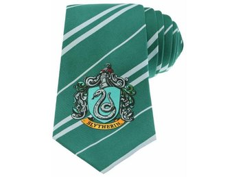 Harry Potter Tie - Necktie - Slytherin Green slips