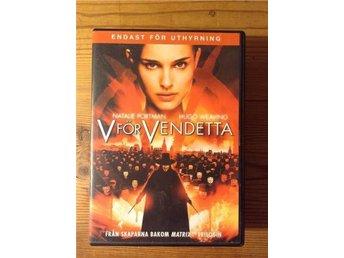 DVD-V för Vendetta - Natalie Portman- Guy Fawkes - Sundbyberg - DVD-V för Vendetta - Natalie Portman- Guy Fawkes - Sundbyberg