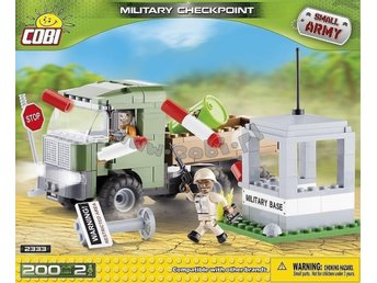 Military checkpoint. 200 bitar. Small Army-serie.