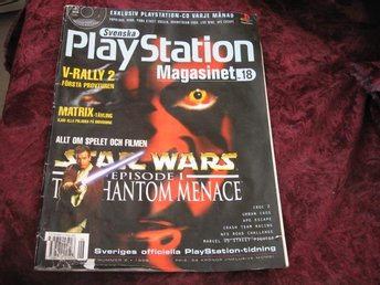 PLAYSTATION MAG NR 6 1999 (STAR WARS THEPHANTOM MENACE)
