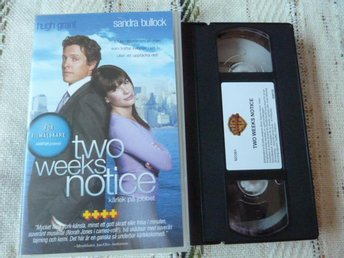 TWO WEEKS NOTICE,  VHS, FILM