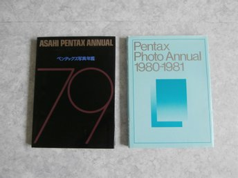 Pentax Photo Annual  1979--81
