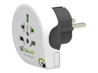 Q2power jordad reseadapter 10A