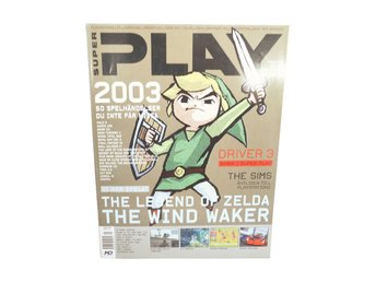 Super Play Nr 1 2003 The Legend of Zelda Wind waker