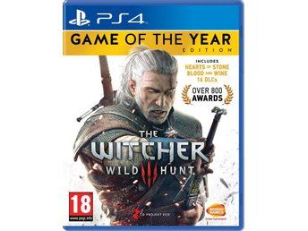 Witcher 3: Wild Hunt - Game of the Year Edition - Playstation 4