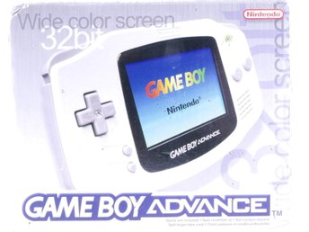 Gameboy Advance Console (White) -