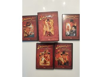 Indiana Jones DVD box