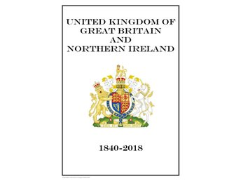 Great Britain and Northern Ireland 1840-2018 (DIGITAL)  ALBUM INGA FRIMÄRKEN!!