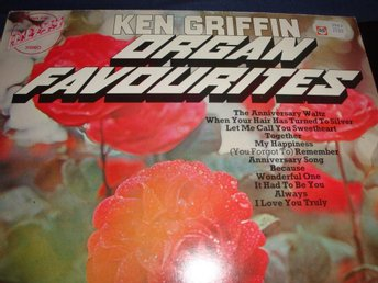 ORGAN FAVOURITES / KEN GRIFFIN LP 1963