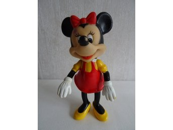 Mimmi Pigg plastfigur - Walt Disney production - 80tal
