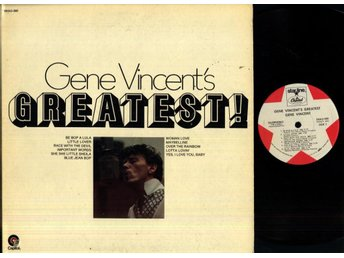 GENE VINCENT - GREATEST - GF