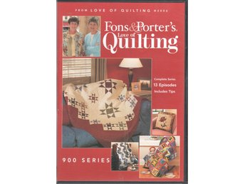 Fons & Porter's Love of Quilting 900 series DVD