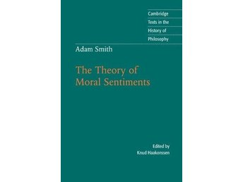 "Bok ""The theory of moral sentiments"" av Adam Smith"