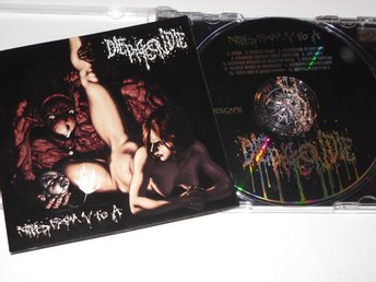DIE PIGEON DIE - RIPPED FROM V TO A (CD) SPLATTER GORE