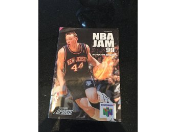 Nba jam 99 Nintendo 64 manual