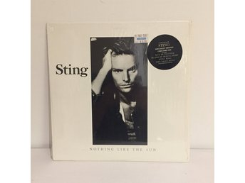 Sting - Nothing like the Sun   Still in shrink!! Dubbel Lp