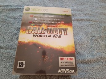 Call of Duty World At War Limited Edition till Xbox 360